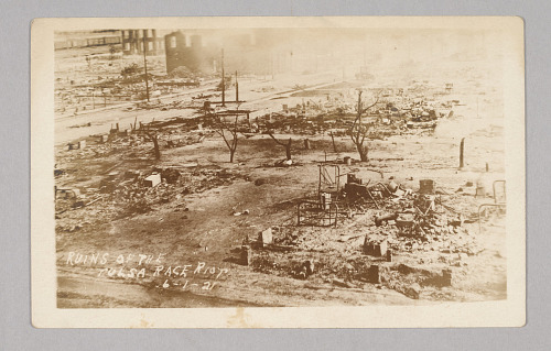 Ruins of the Tulsa Race Riot 6-1-21