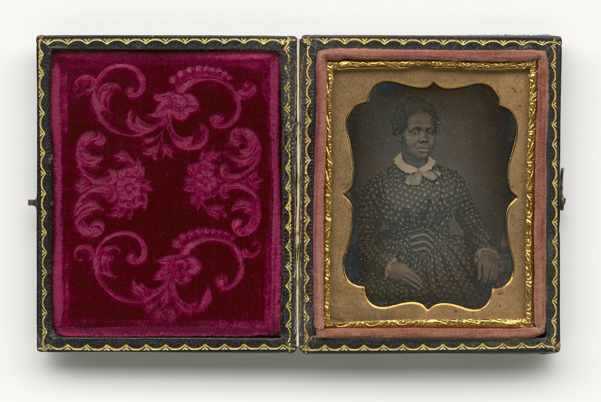 Daguerreotype of Rhoda Phillips