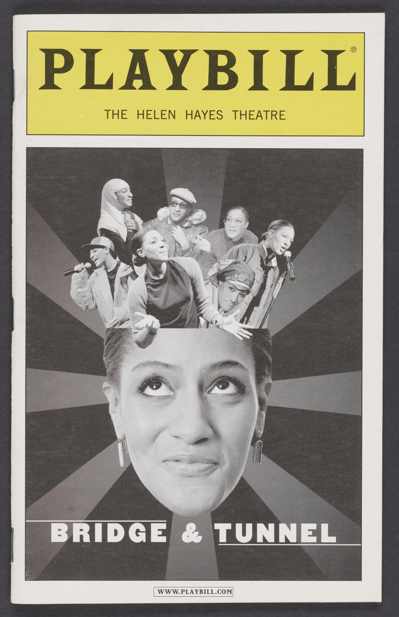 Image for Playbill for Bridge & Tunnel
