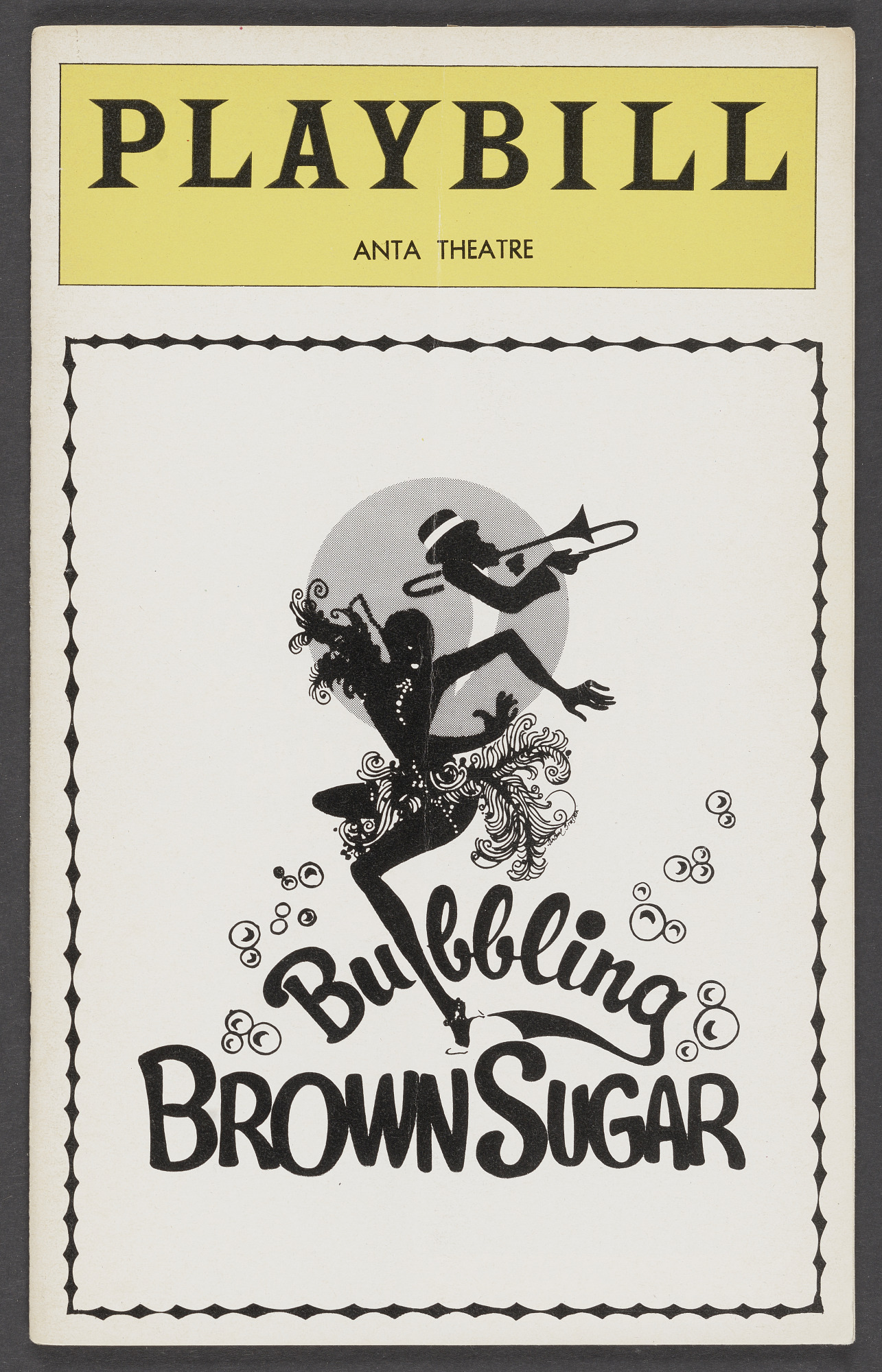 Image for Playbill for Bubbling Brown Sugar