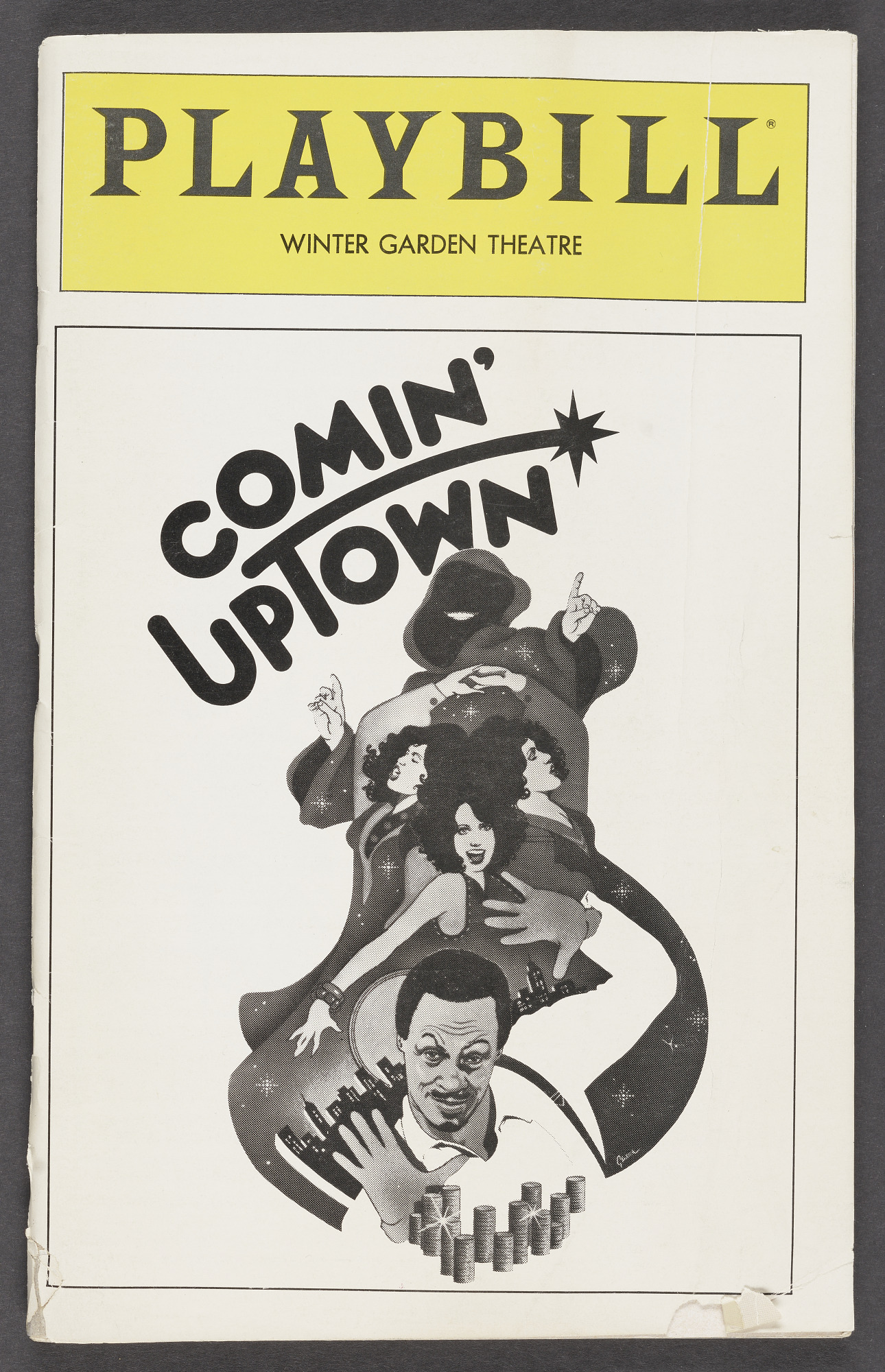 Image for Playbill for Comin' Uptown