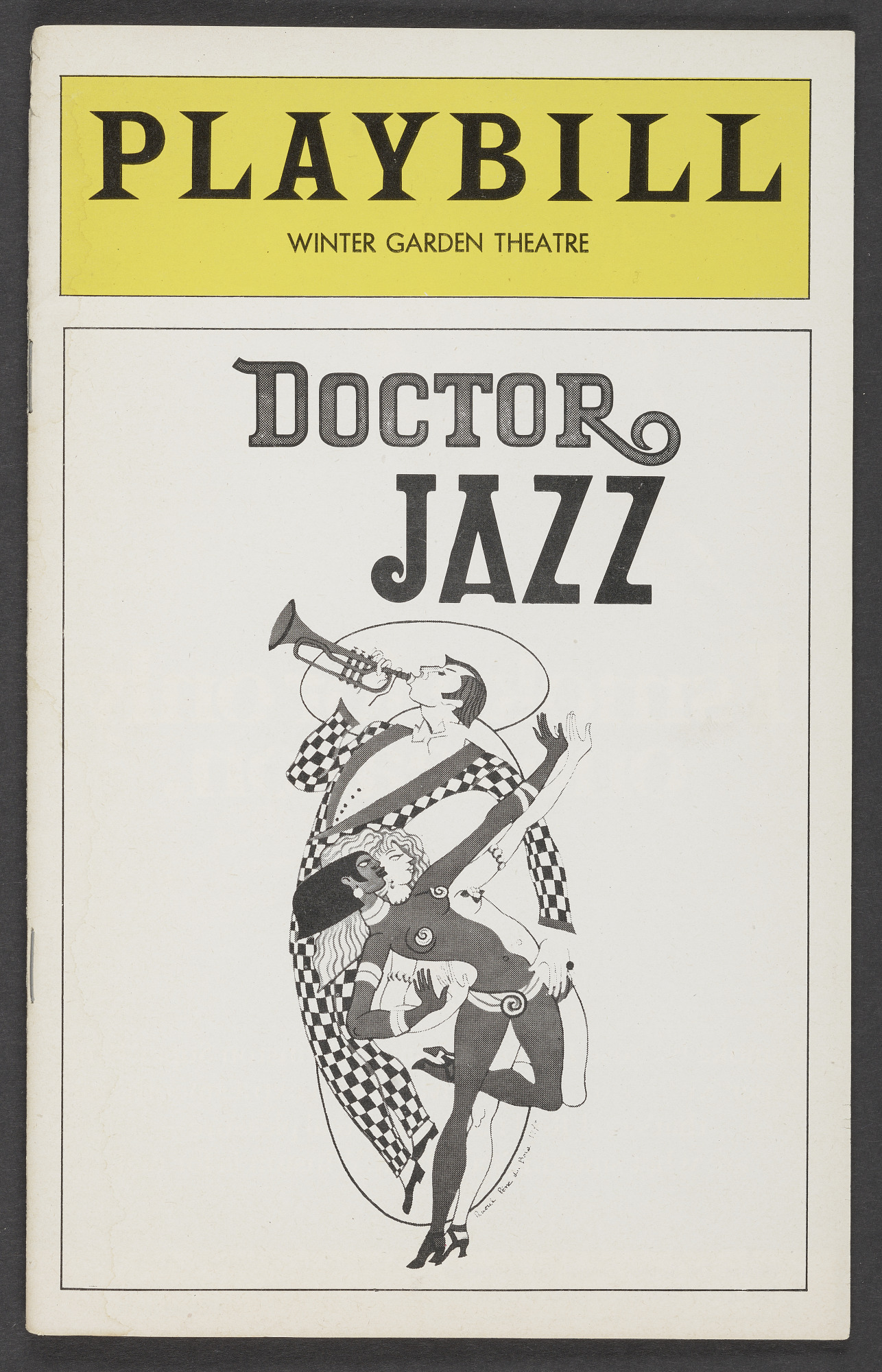 Image for Playbill for Doctor Jazz