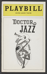 Playbill for Doctor Jazz