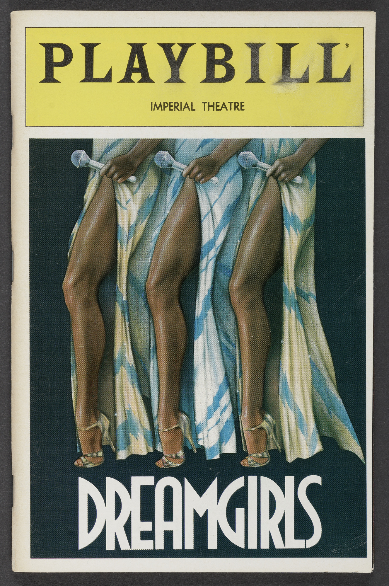 Image for Playbill for Dreamgirls