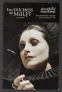 Image for Theatre program for The Duchess of Malfi