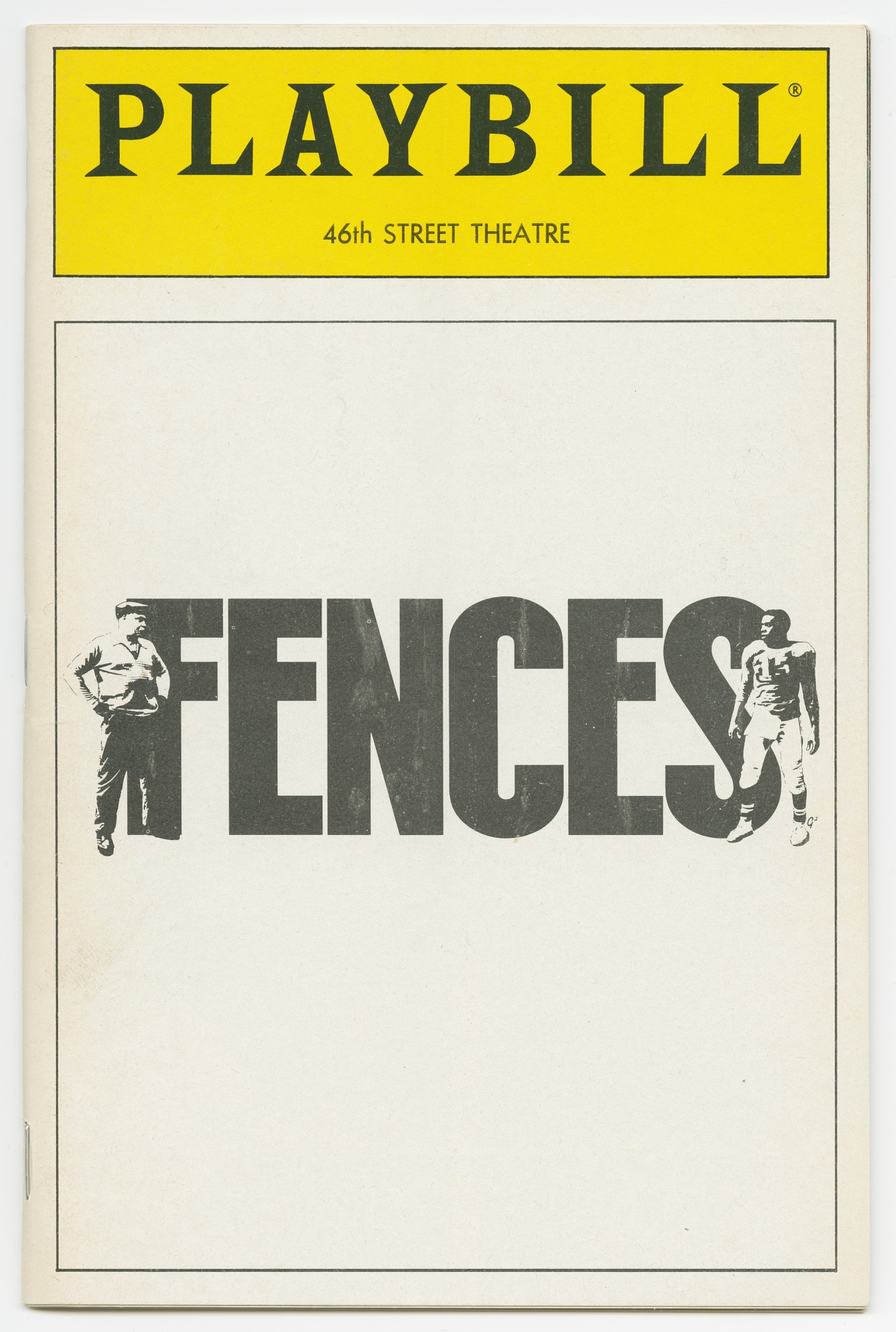 Image for Playbill for Fences