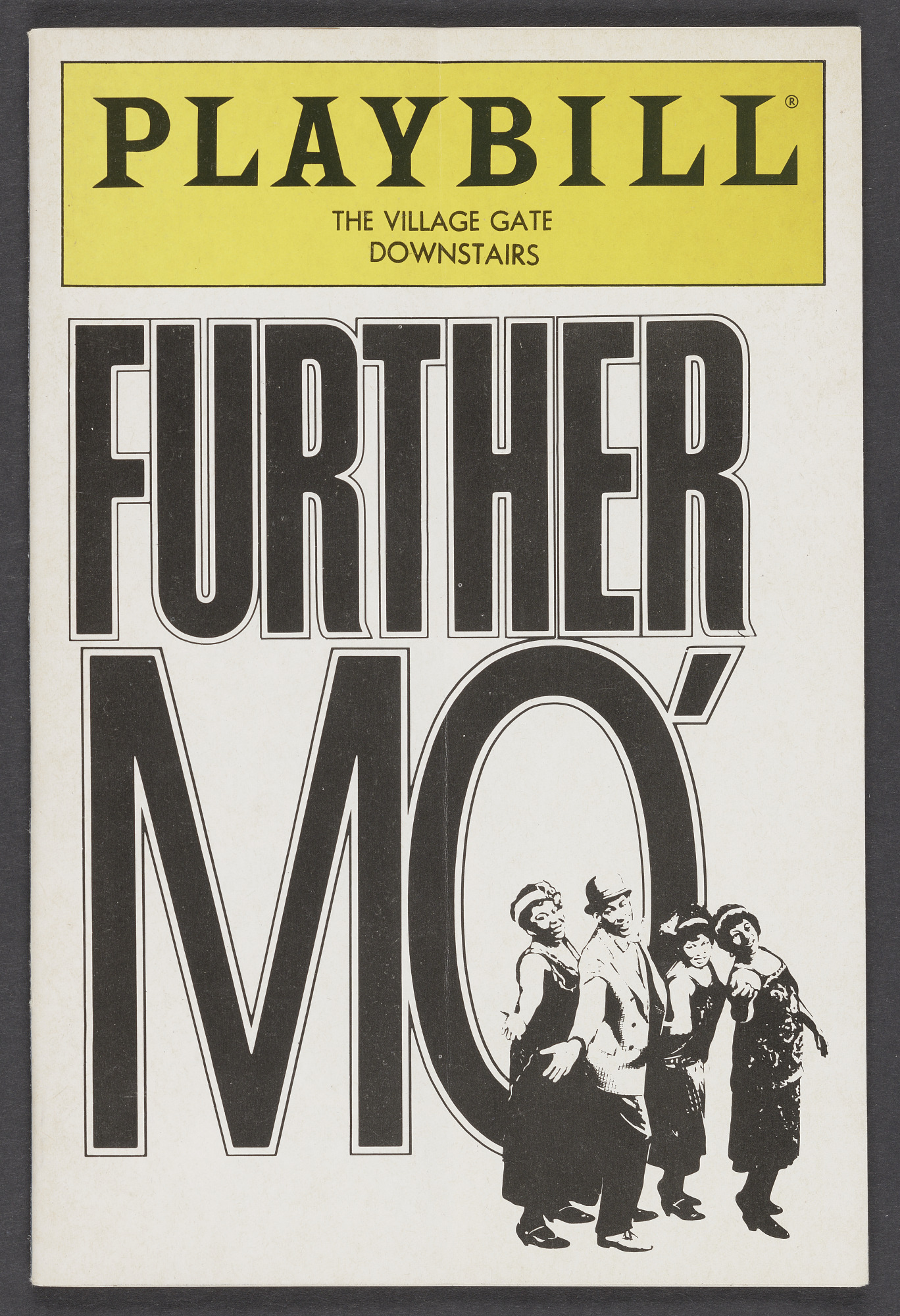 Image for Playbill for Further Mo'
