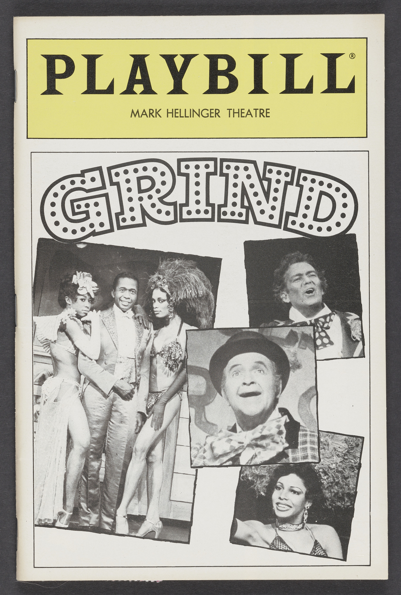 Image for Playbill for Grind