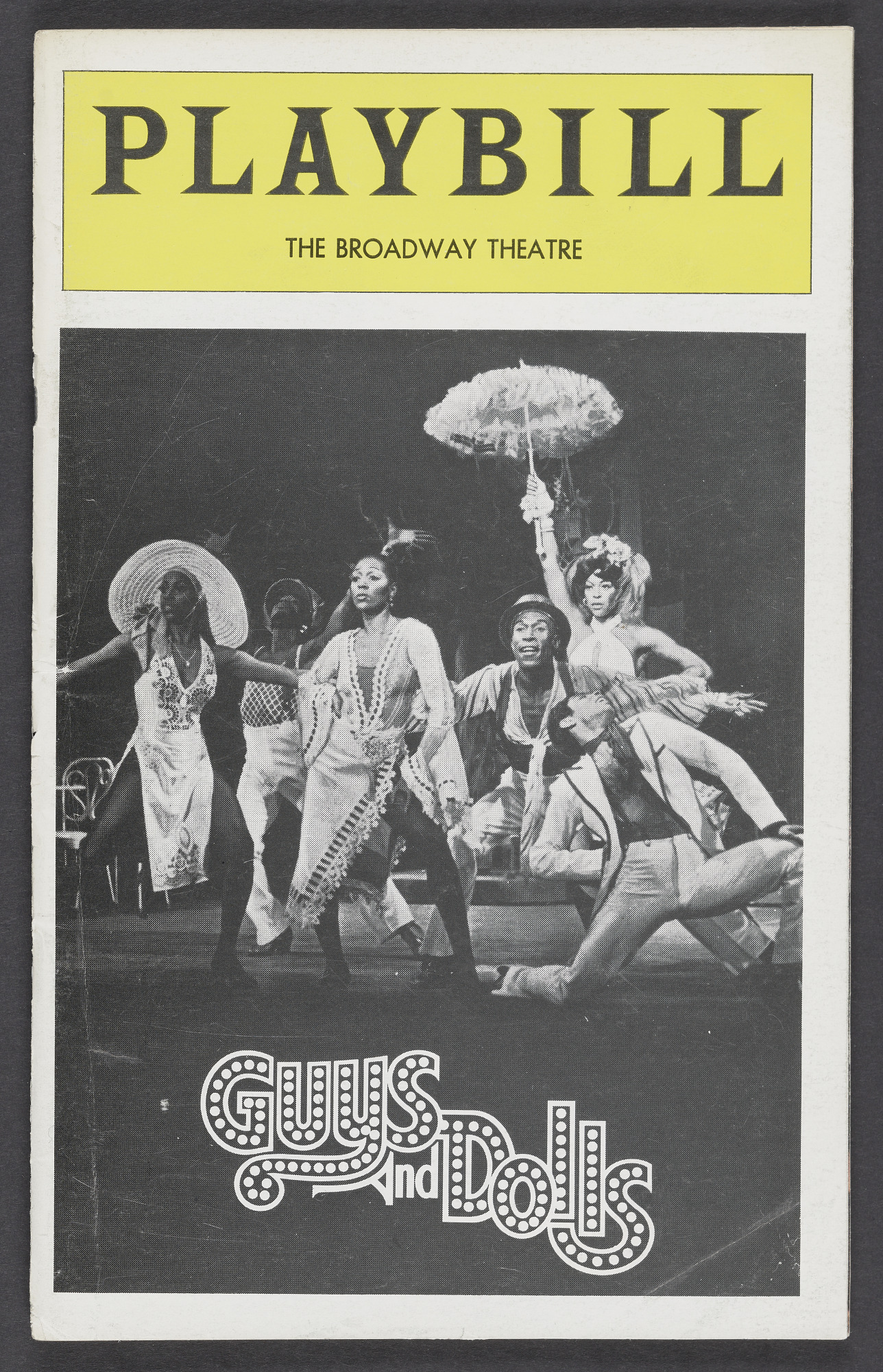 Image for Playbill for Guys and Dolls