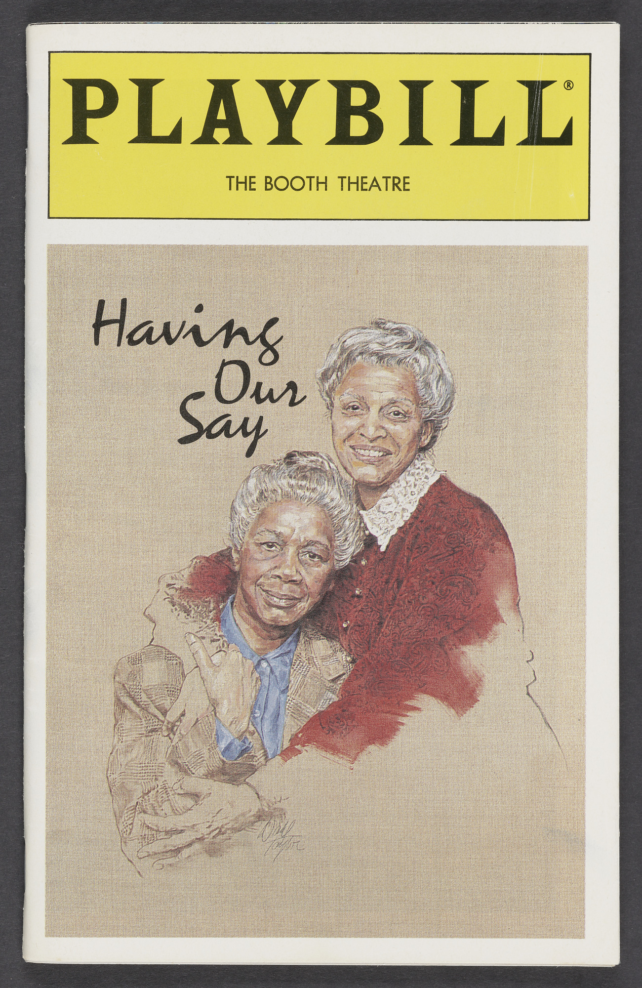 Image for Playbill for Having Our Say