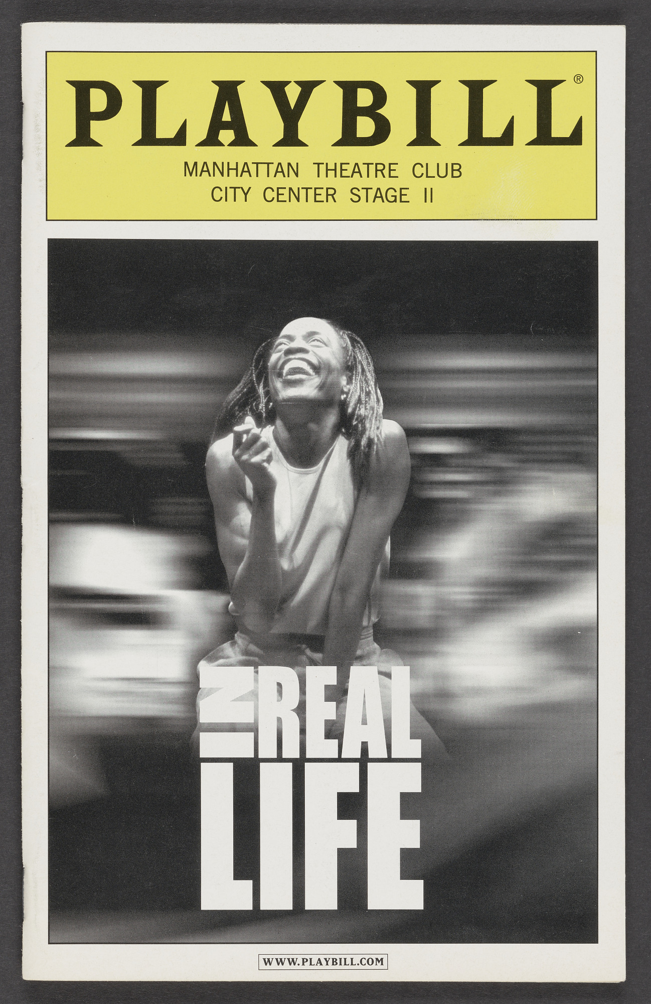 Image for Playbill for In Real Life