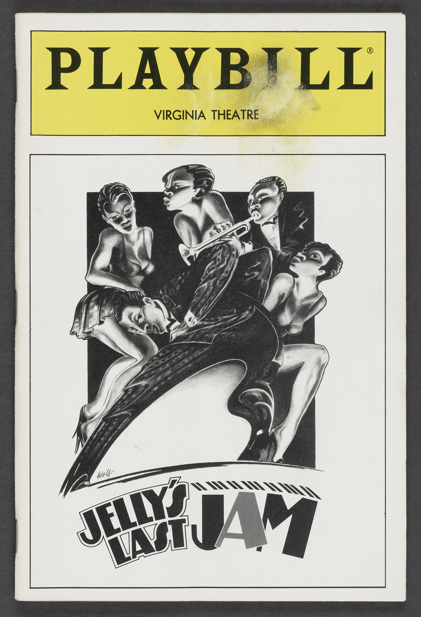 Image for Playbill for Jelly's Last Jam