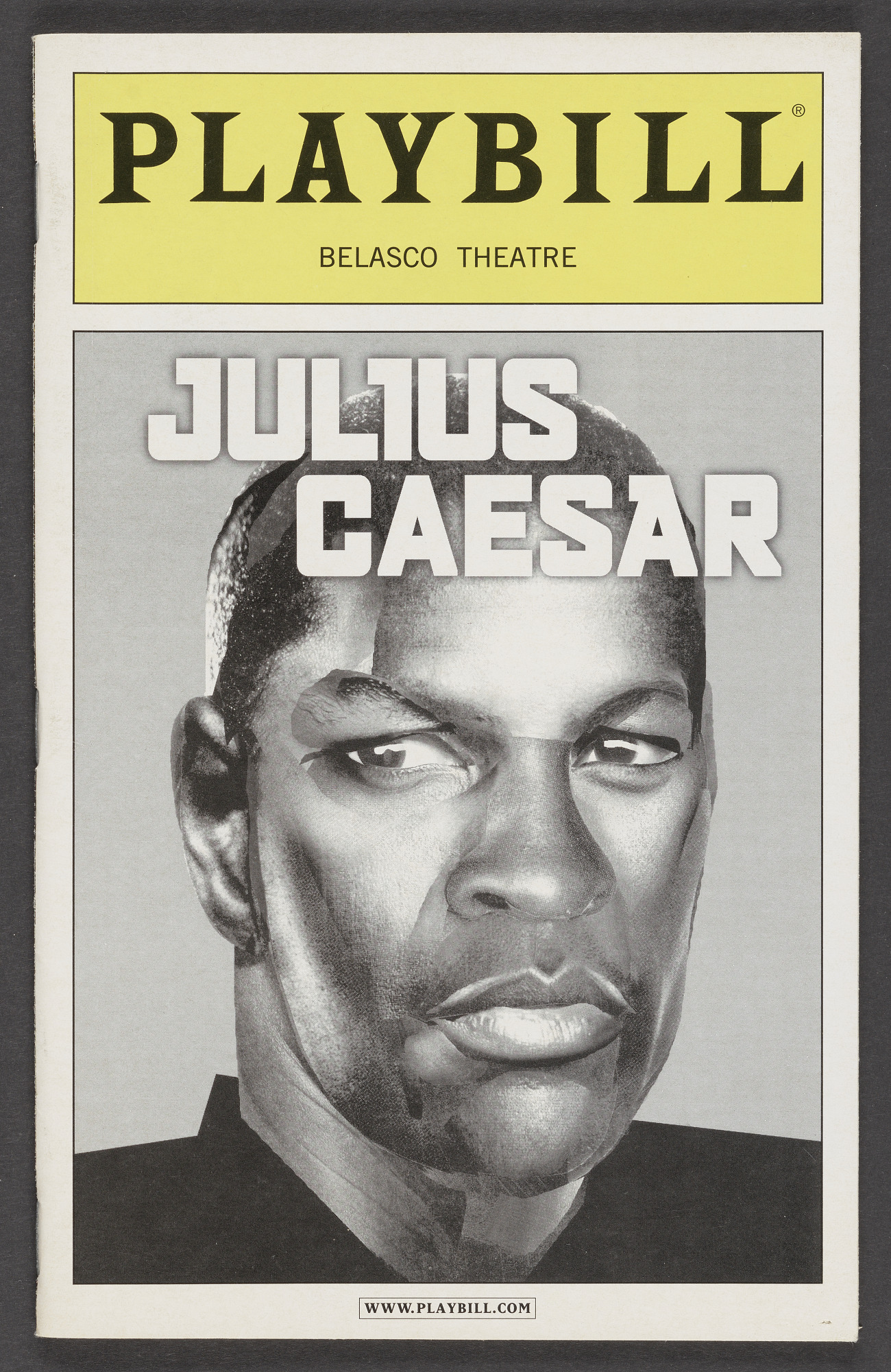Image for Playbill for Julius Caesar
