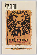 Image for Theatre program for The Lion King