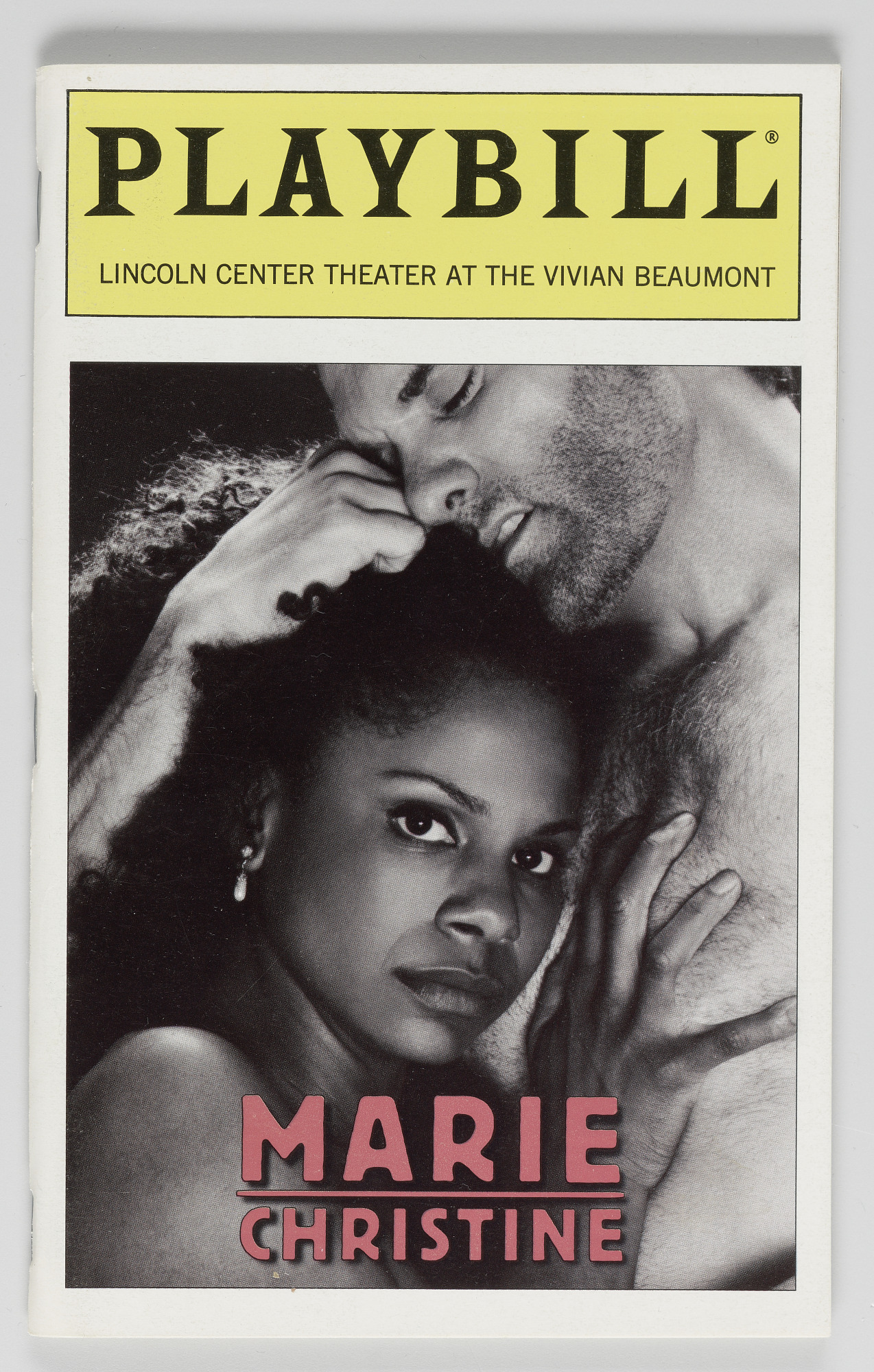 Image for Playbill for Marie Christine