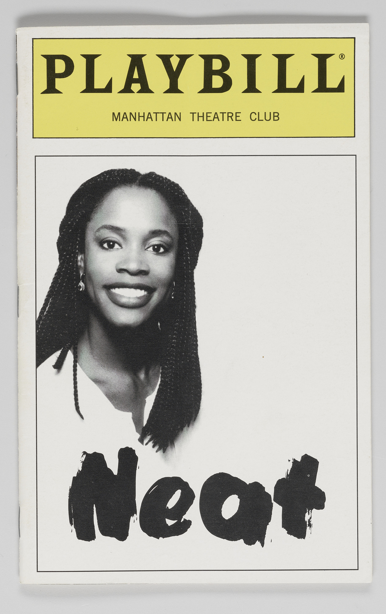 Image for Playbill for Neat