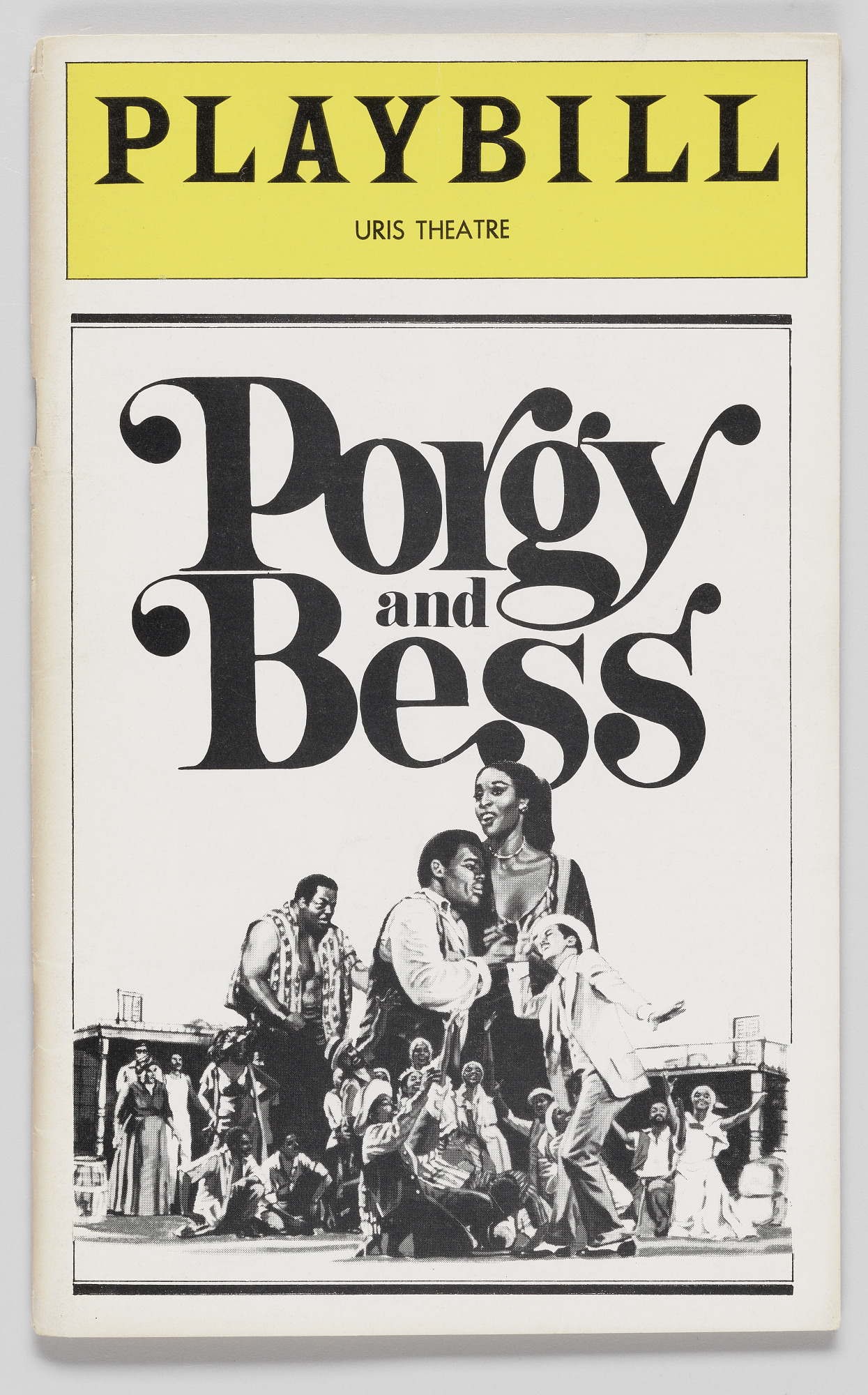 Image for Playbill for Porgy and Bess