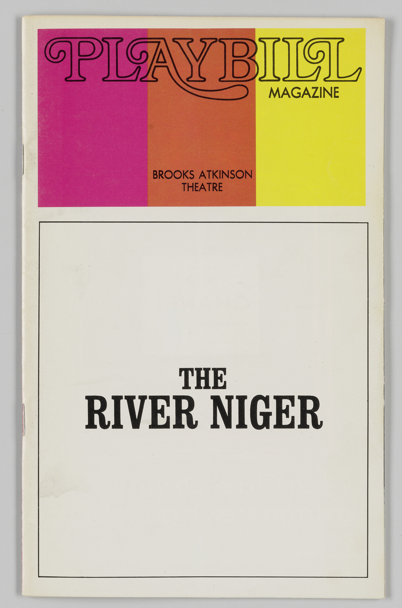 Image for Playbill for The River Niger