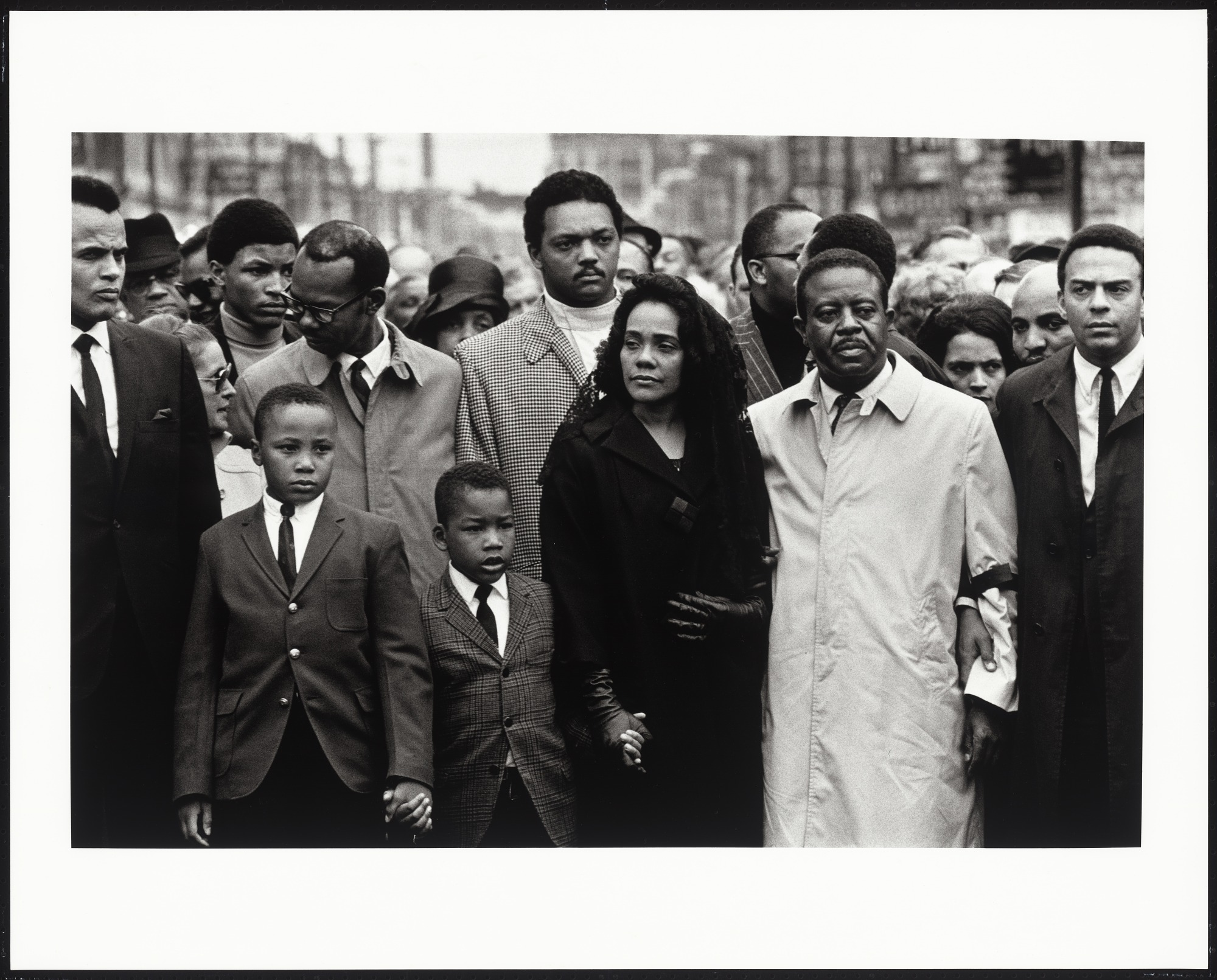 Martin Luther King Jr Funeral King Family And Friends National
