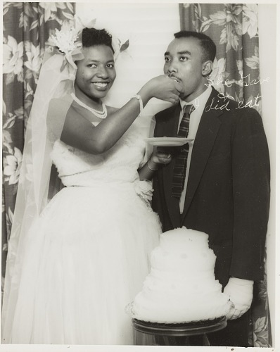 African American Wedding.Wedding Portrait Of Couple National Museum Of African American