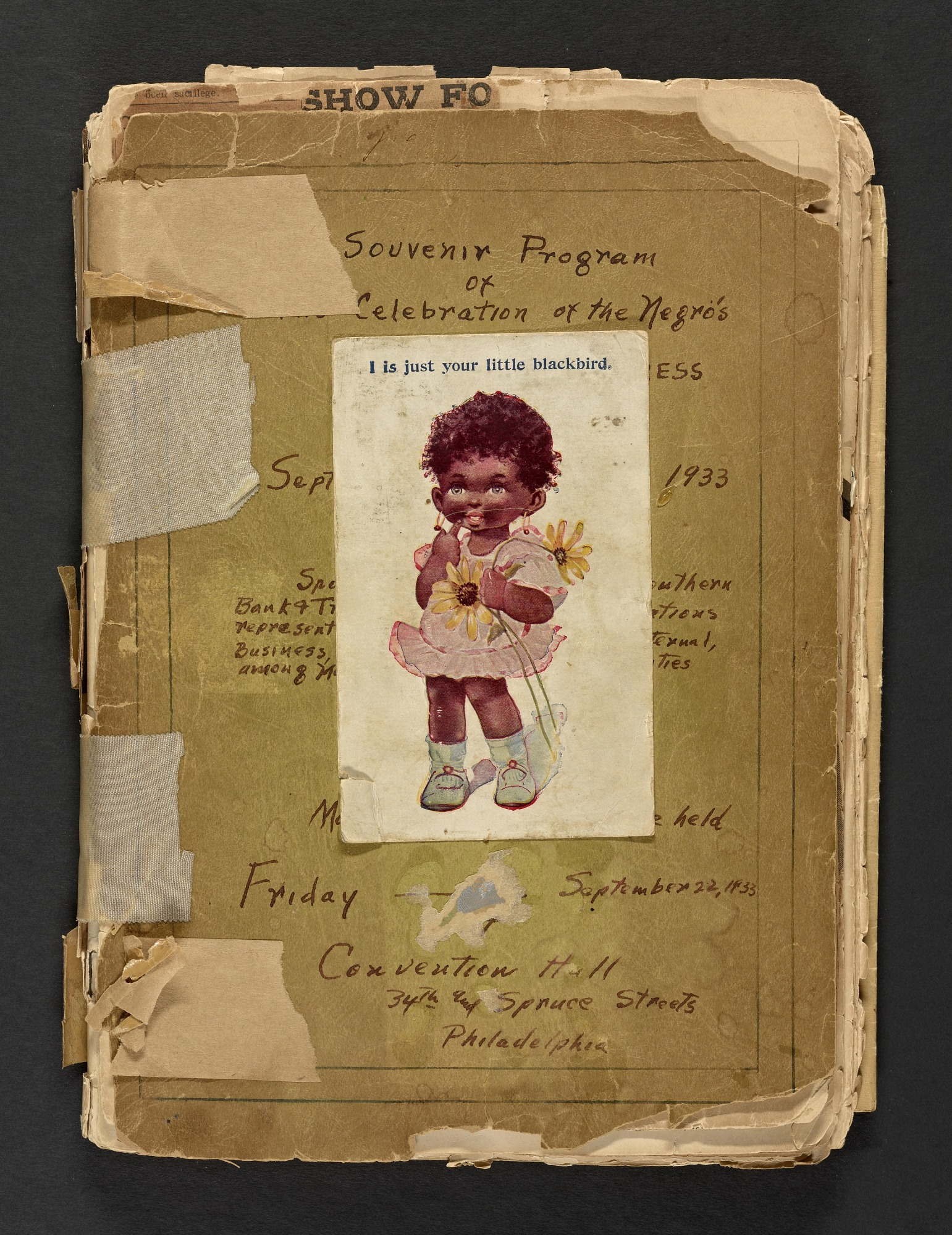 Image for Scrapbook compiled by Louise Alexander Gunn