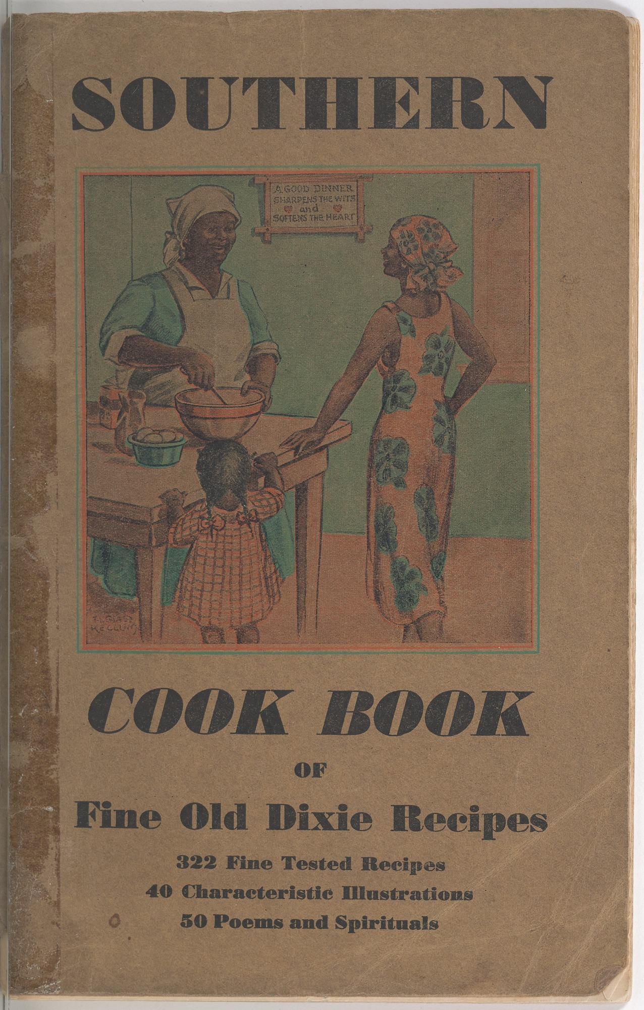 View <I>Southern Cook Book of Fine Old Dixie Recipes</I> digital asset number 1