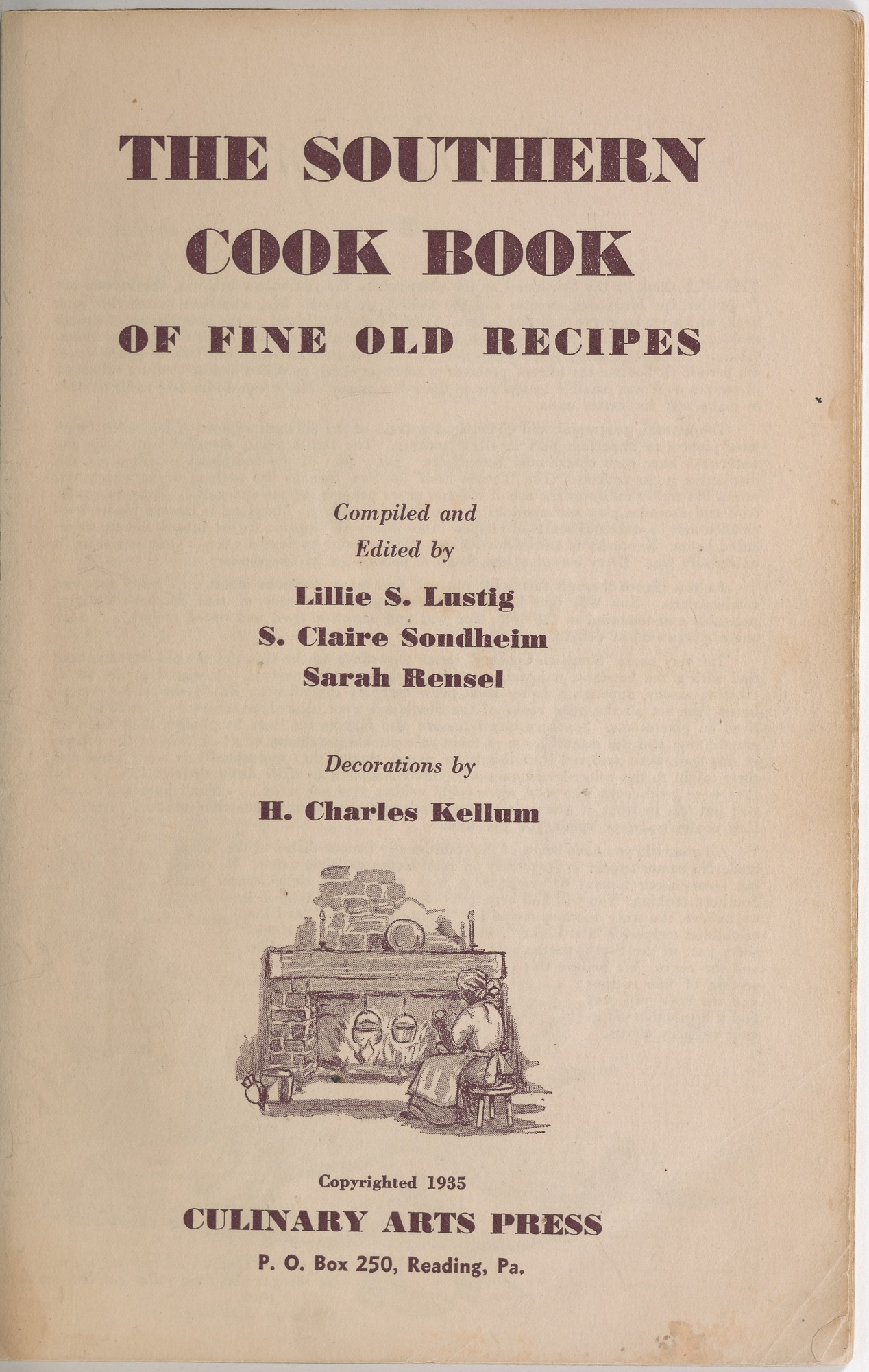 View <I>Southern Cook Book of Fine Old Dixie Recipes</I> digital asset number 3