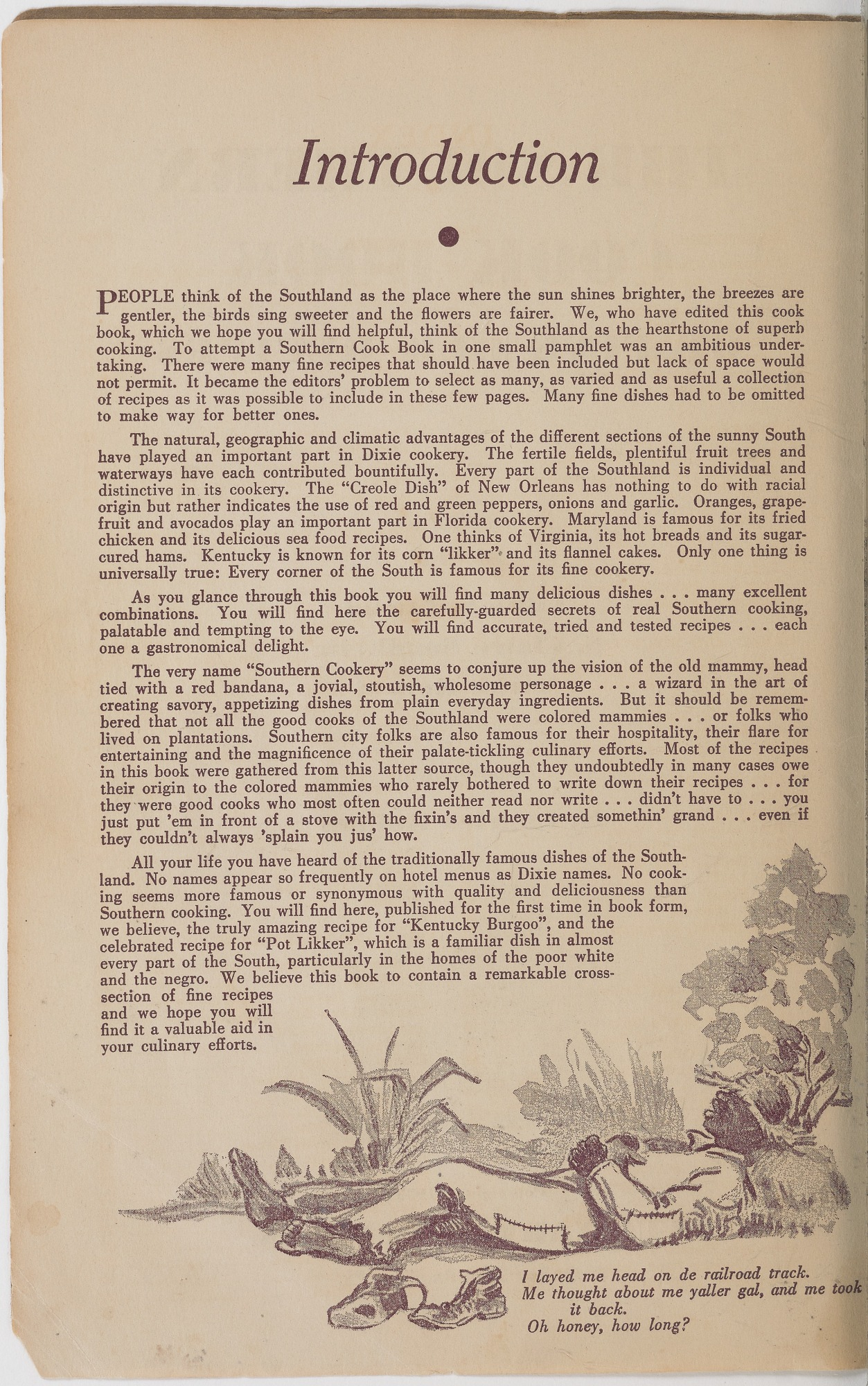 View <I>Southern Cook Book of Fine Old Dixie Recipes</I> digital asset number 4