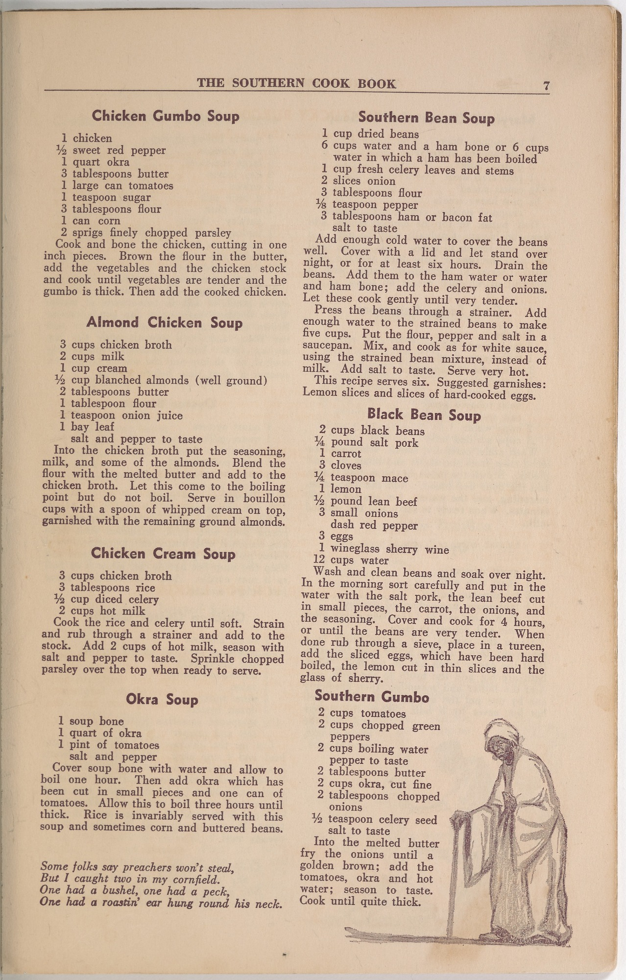 View <I>Southern Cook Book of Fine Old Dixie Recipes</I> digital asset number 9