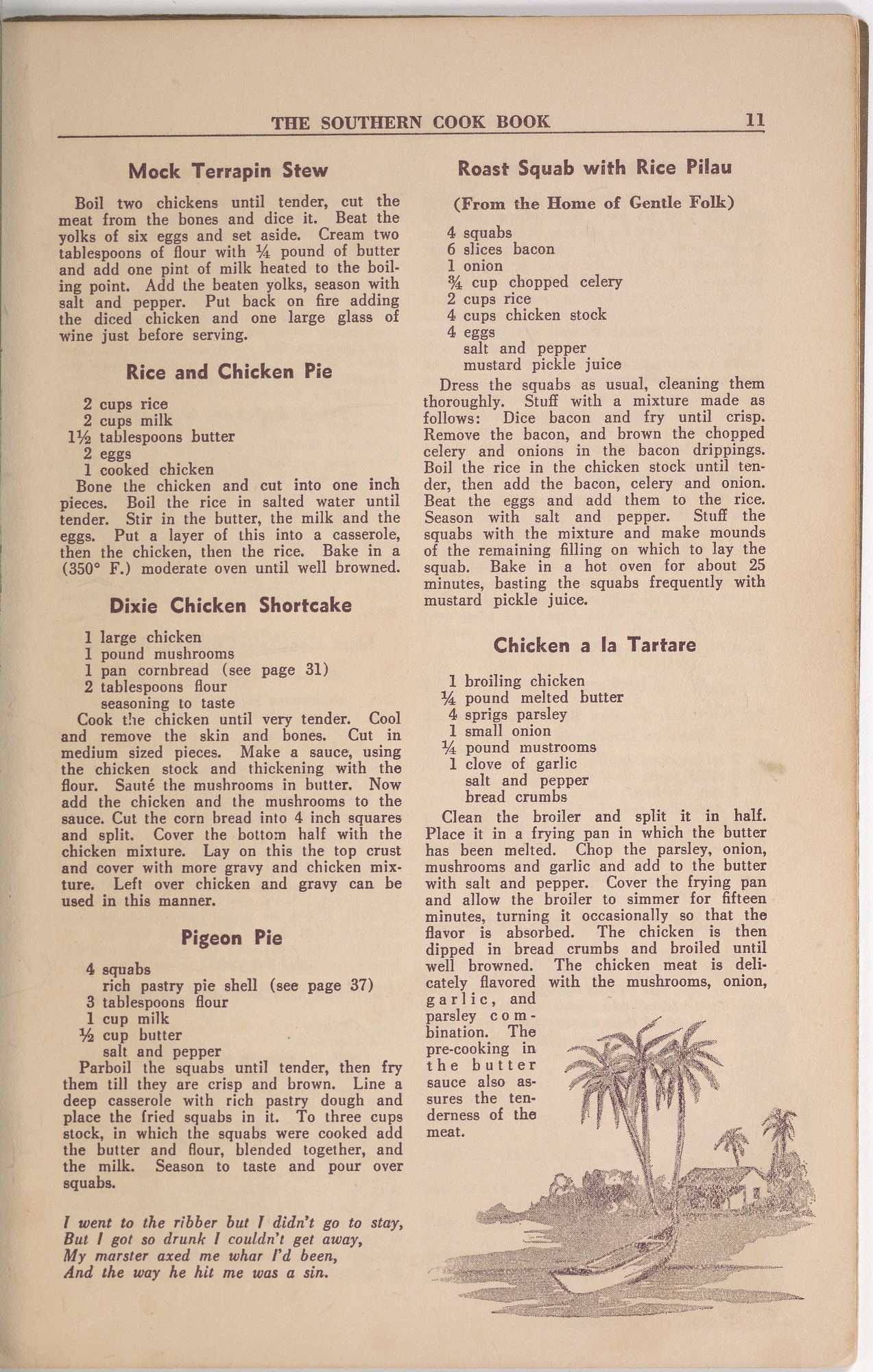 View <I>Southern Cook Book of Fine Old Dixie Recipes</I> digital asset number 13