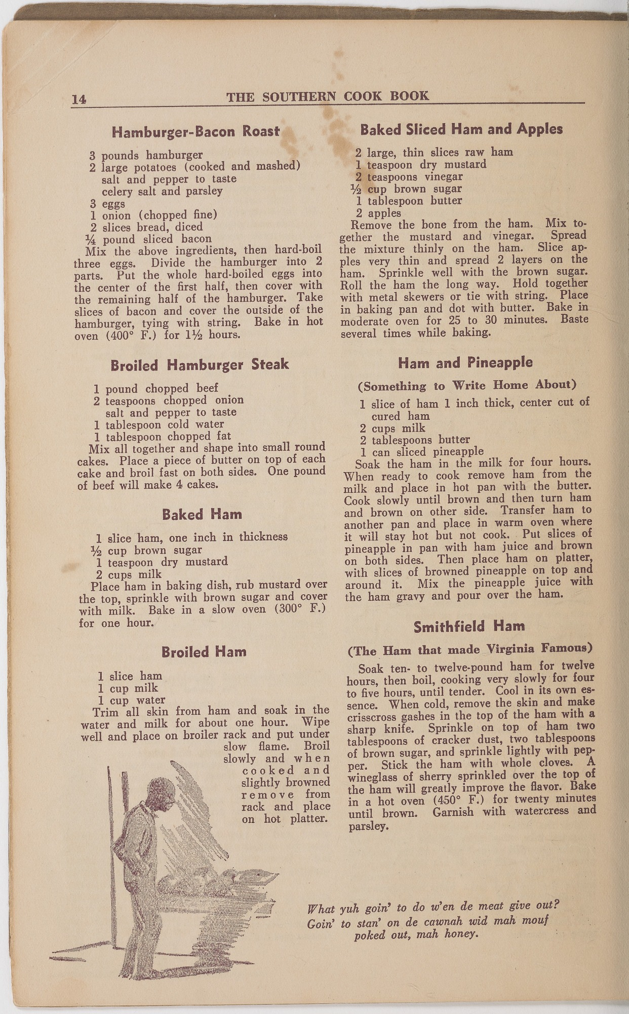 View <I>Southern Cook Book of Fine Old Dixie Recipes</I> digital asset number 16