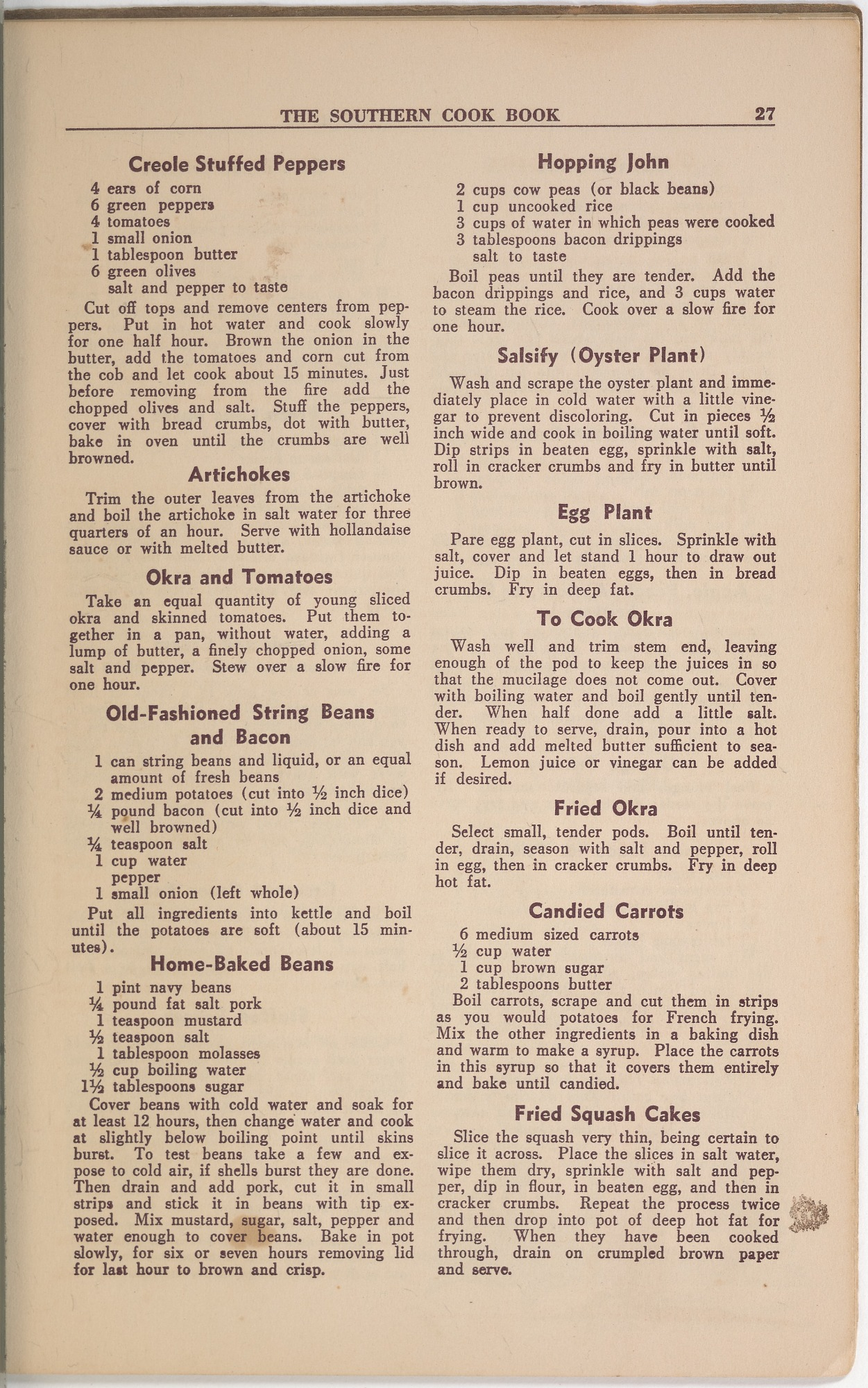 View <I>Southern Cook Book of Fine Old Dixie Recipes</I> digital asset number 29