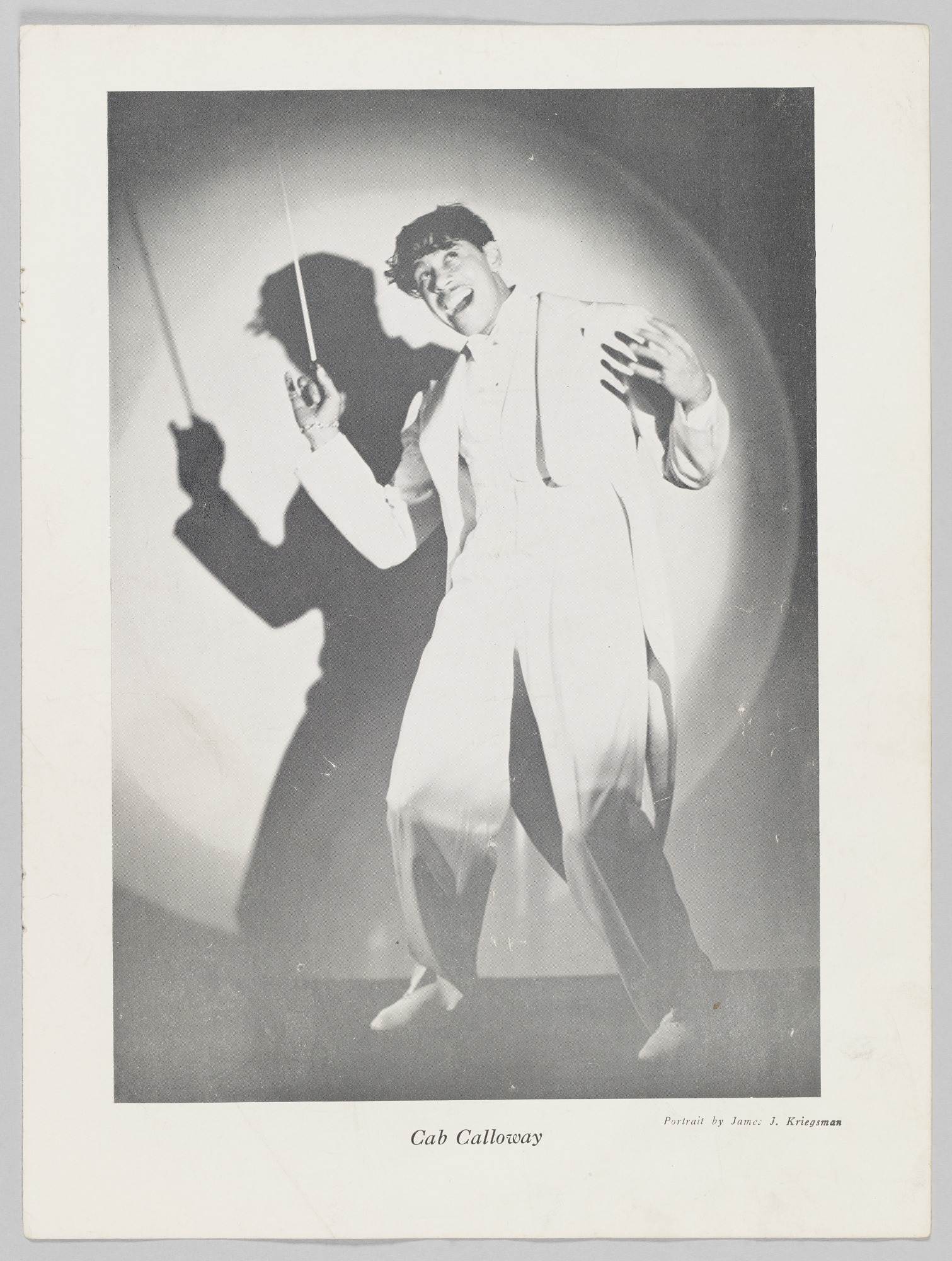 Loose pages from a magazine about the Cotton Club