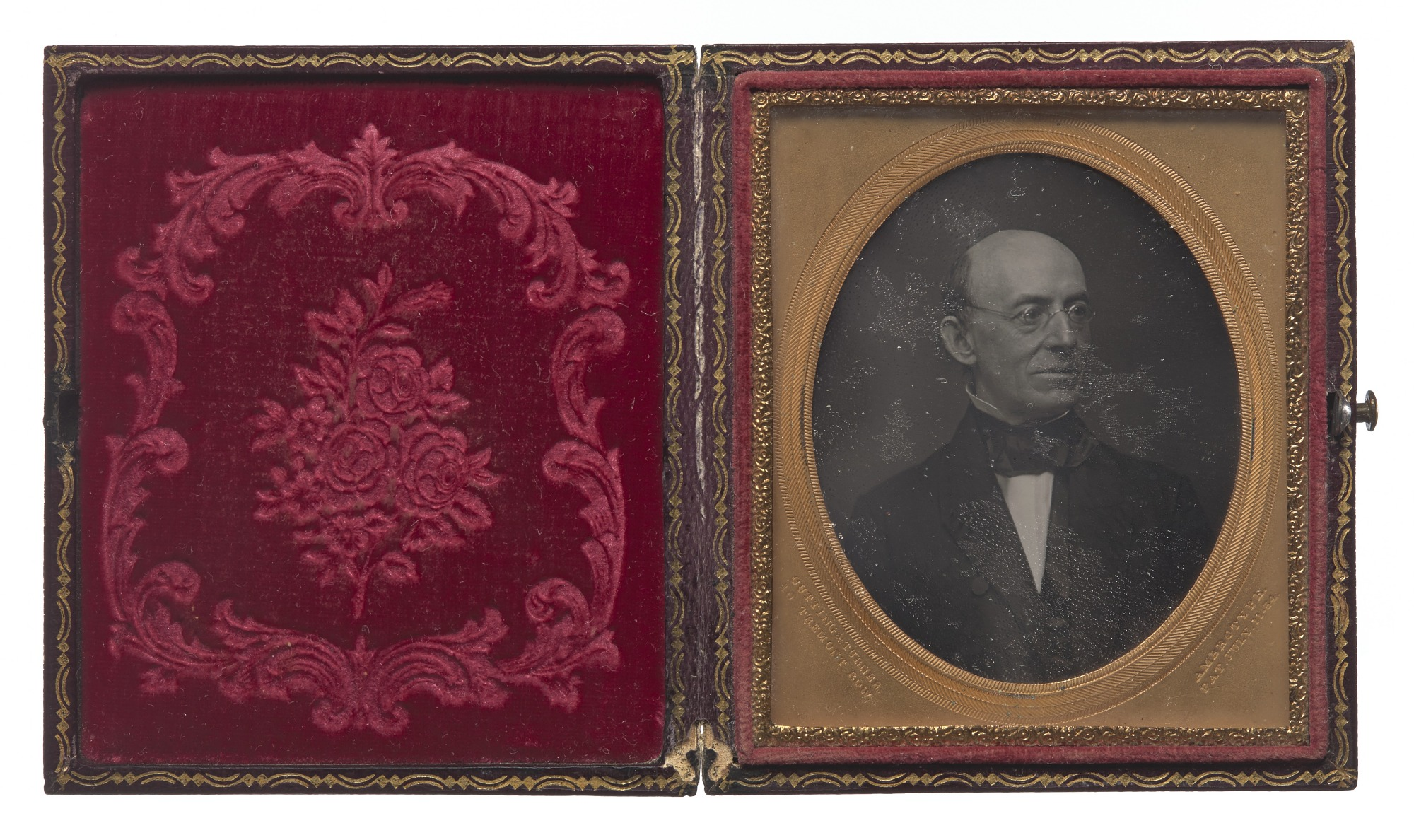 Daguerreotype of William Lloyd Garrison