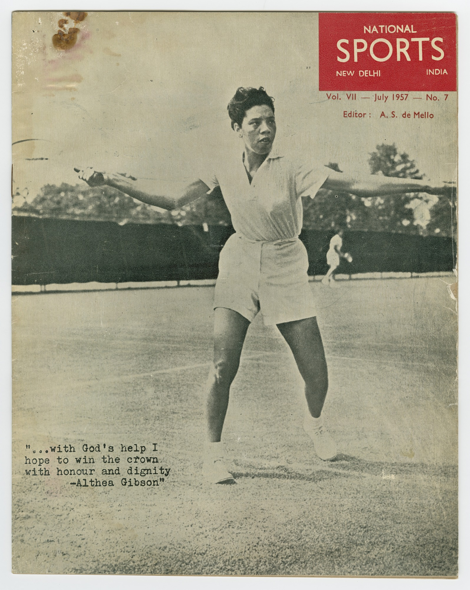 Image for National Sports Vol. VII No. 7