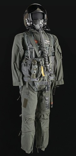 dc3331e2717 Pilot flight suit and gear owned by Charles F. Bolden | National ...