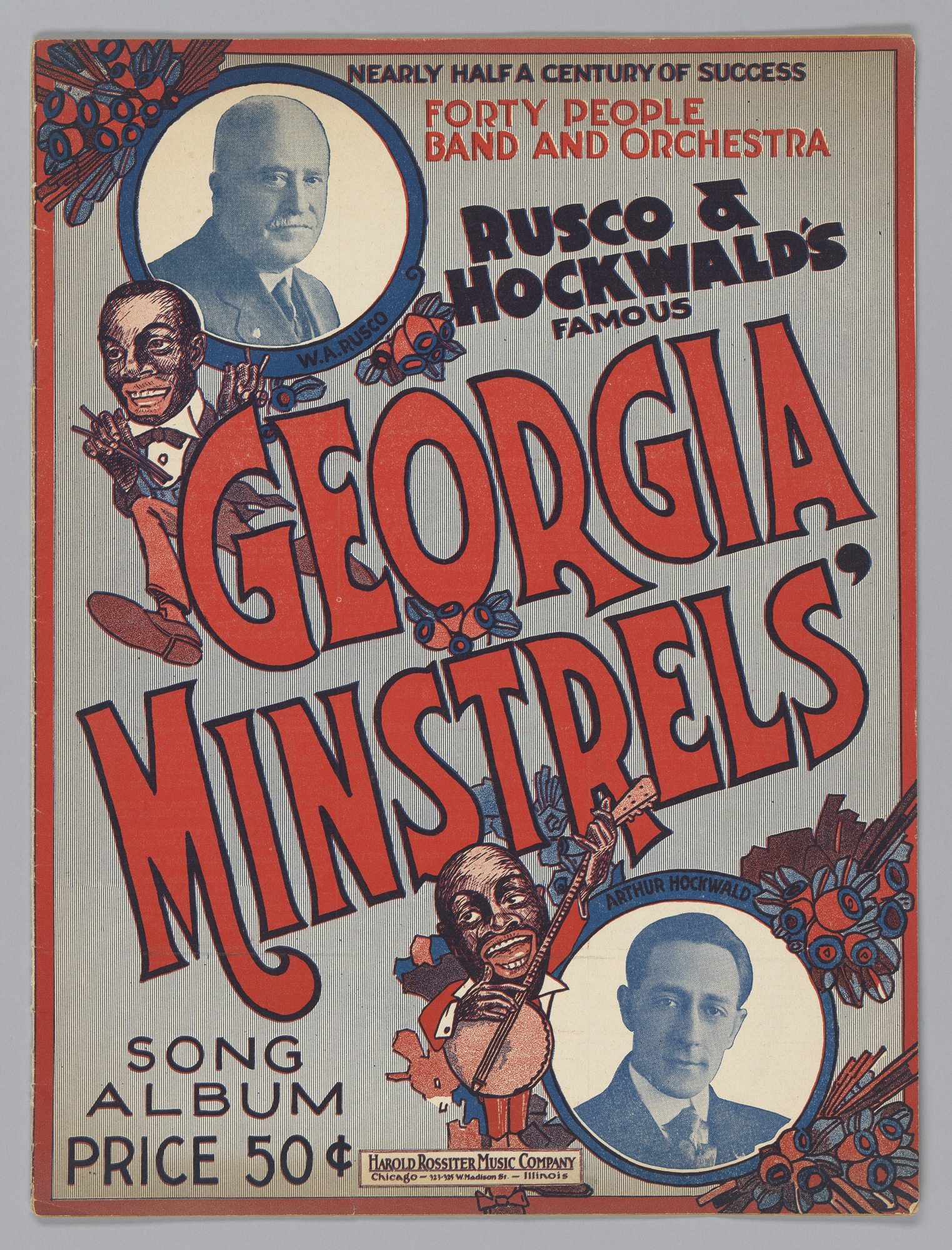 Image for Rusco & Hockwald's Famous Georgia Minstrels' Song Album