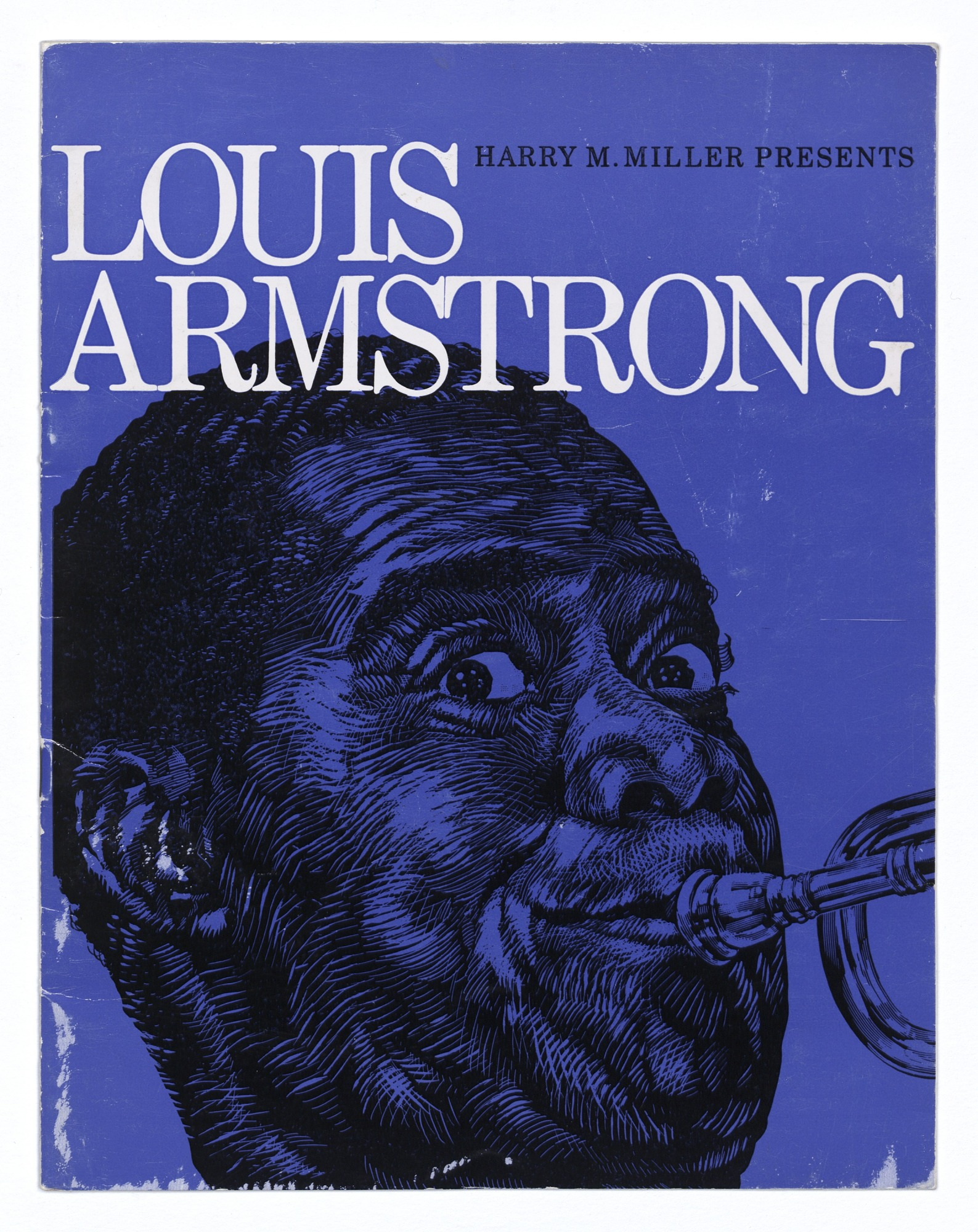 Image for Autographed program for a Louis Armstrong tour in Australia and New Zealand