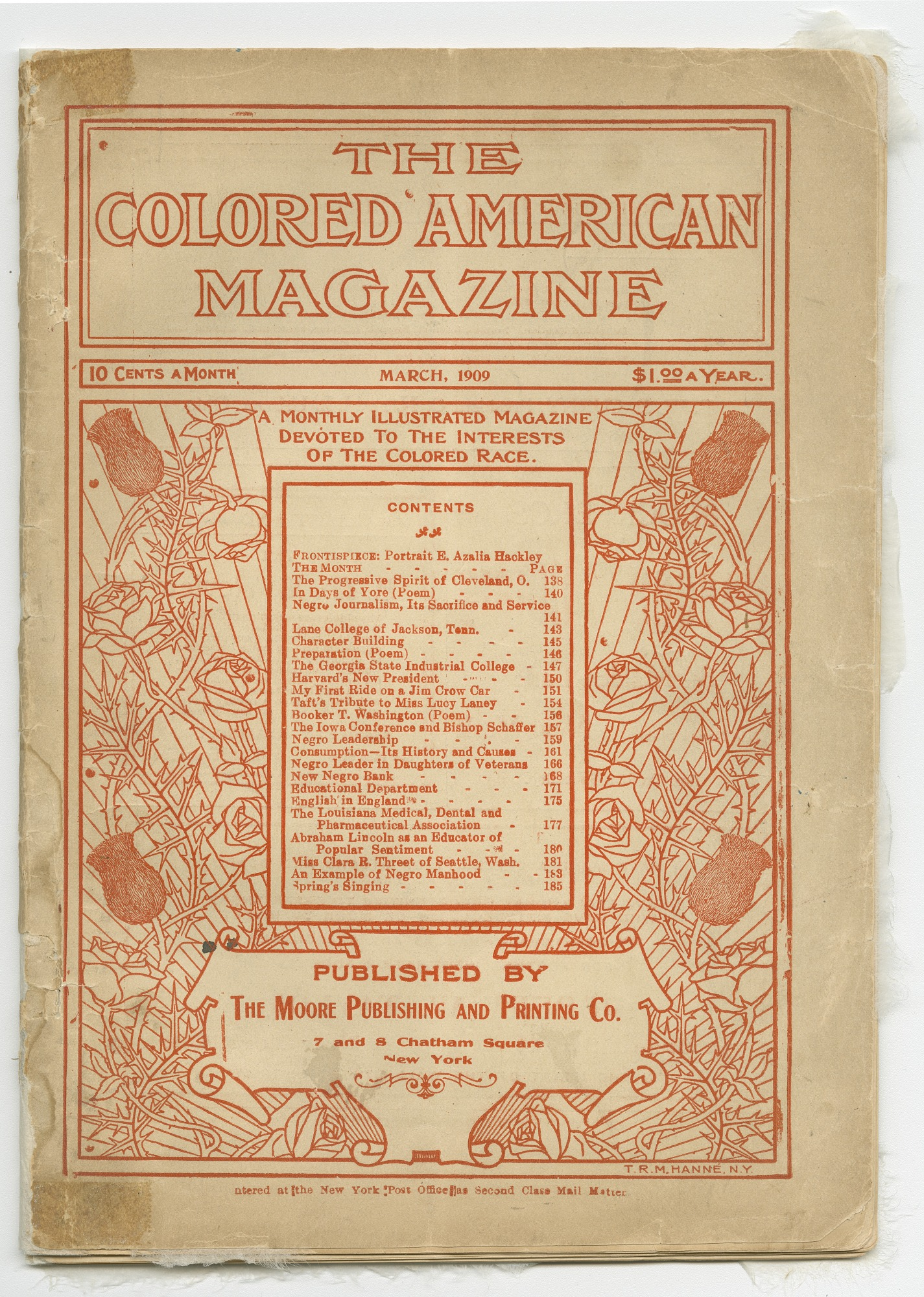 Image for The Colored American Magazine Vol. XV No. 3