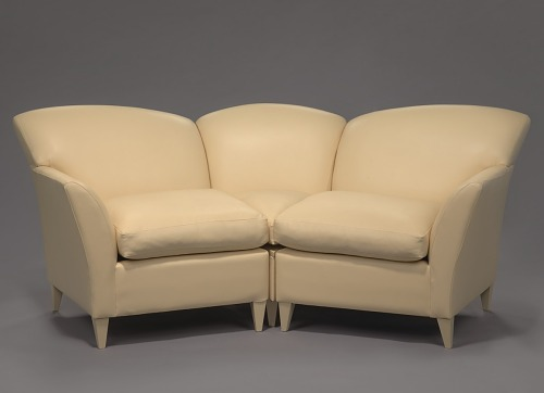 Couch From The Set Of Oprah Winfrey Show In Harpo Studios