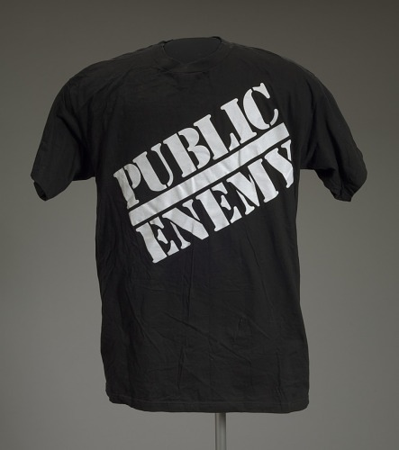 ec9fe4c1 T-shirt with Public Enemy logo | National Museum of African American  History and Culture