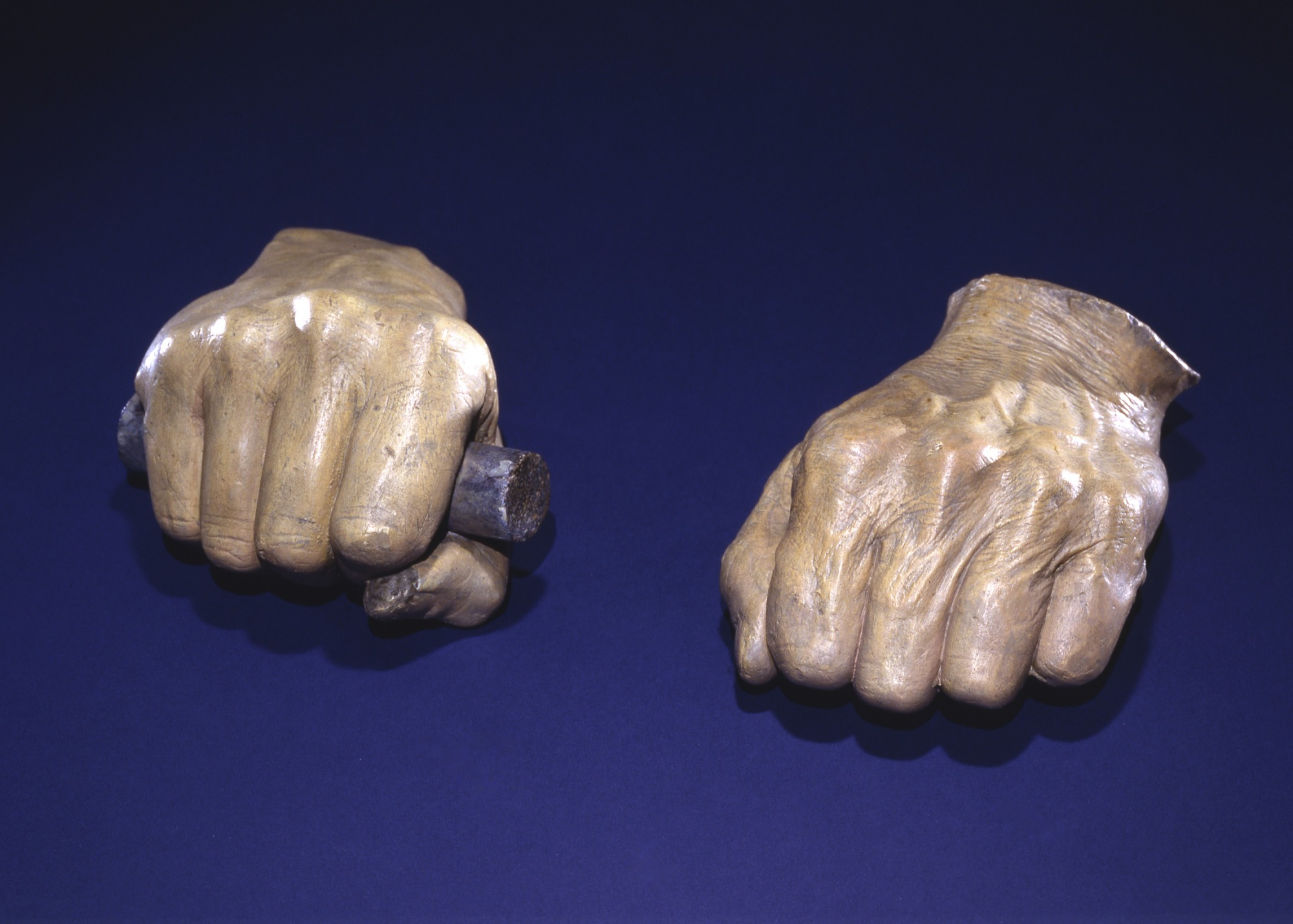 Casts of Abraham Lincoln's Face and Hands | National Museum