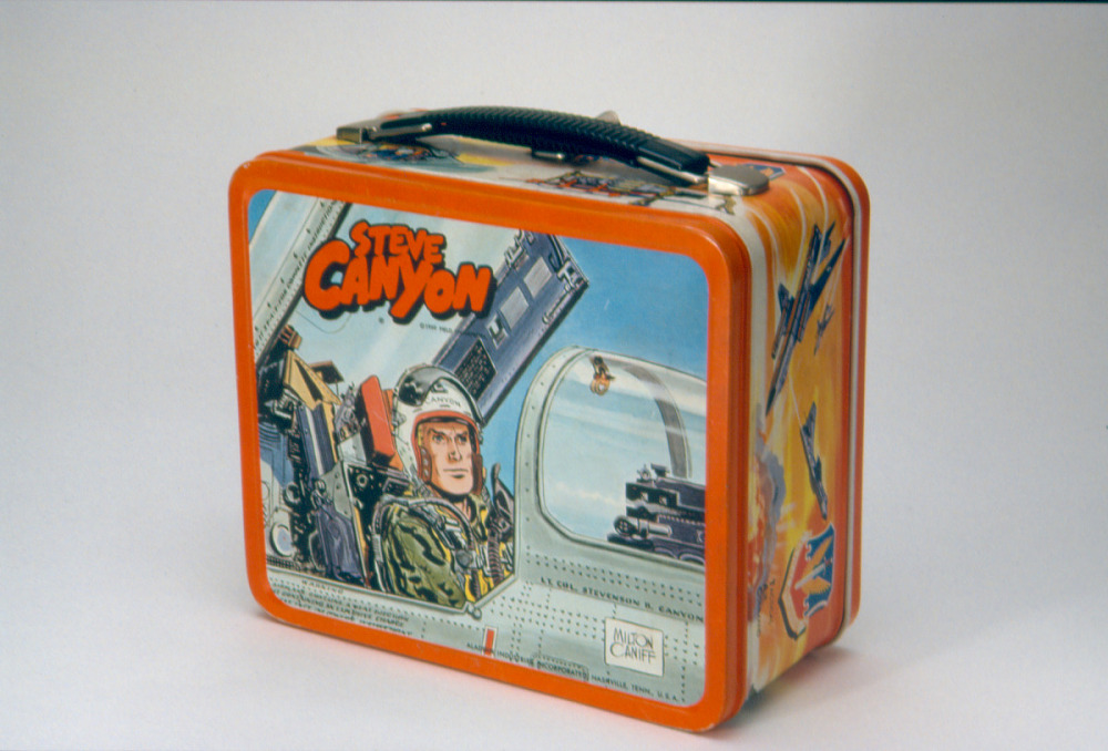 steve canyon lunch box national museum of american history