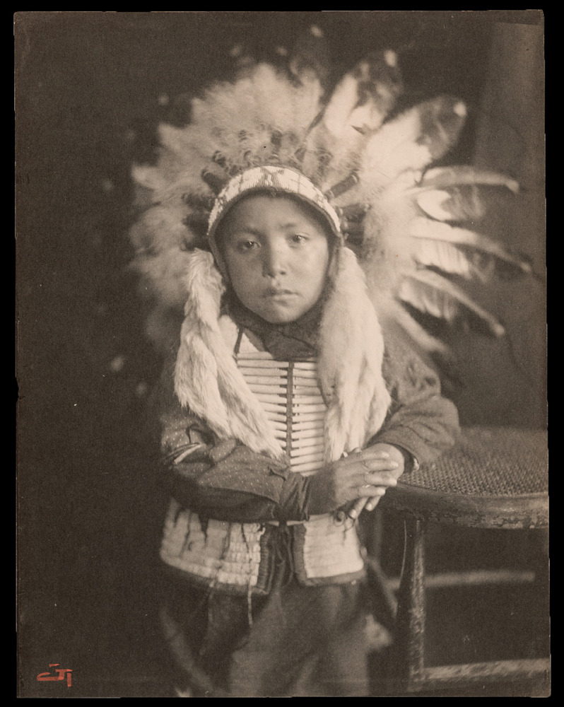 Willie Spotted Horse, Sioux Indian child | National Museum