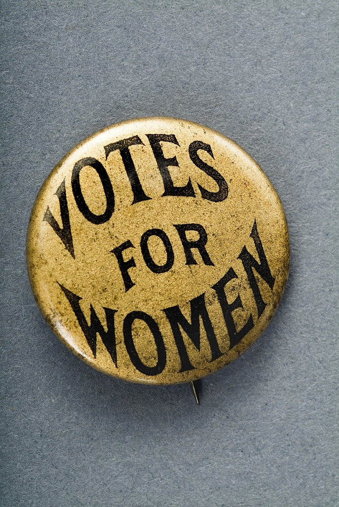 Woman Suffrage Button National Museum Of American History