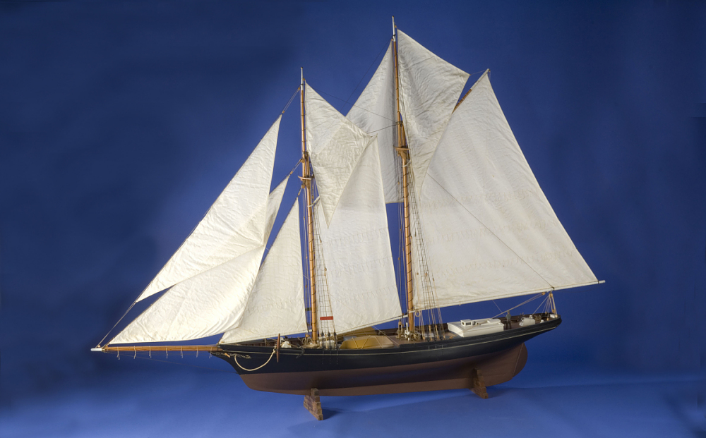 Ship Model, Schooner Fredonia | National Museum of American History
