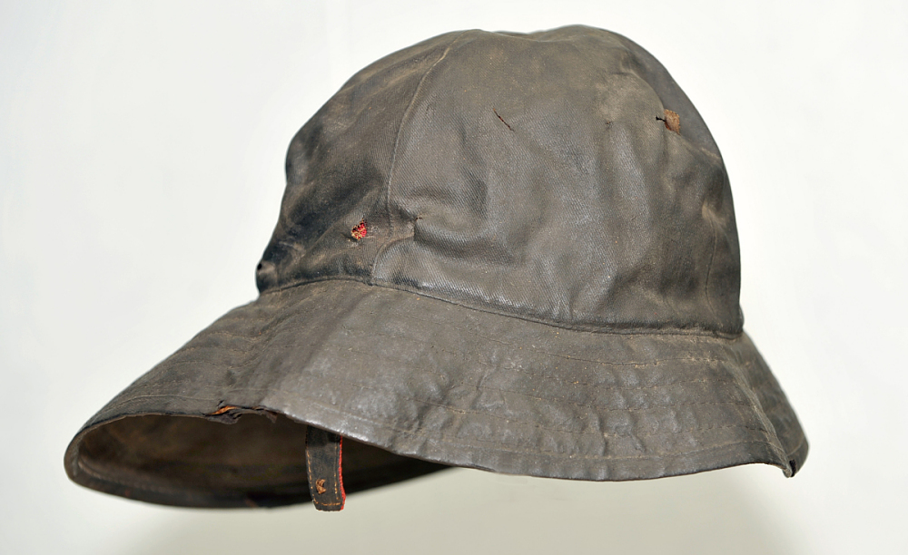 4ab44a8368b28a Fisherman's Oilskin Hat | National Museum of American History