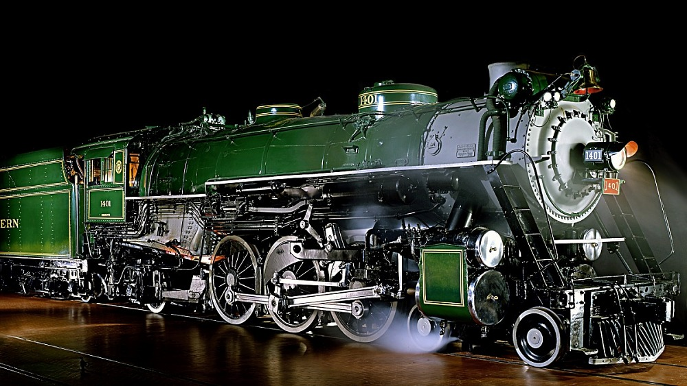 steam locomotive southern railway 1401 national museum of