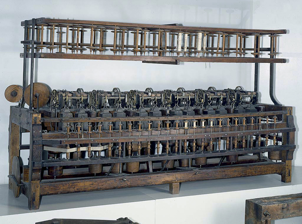 Samuel Slater's Spinning Frame | National Museum of American