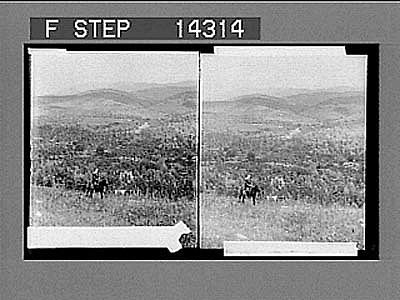 In beautiful Lebanon, E. over upper Jordan Valley to Mt. Hermon. 10828 Photonegative 1910